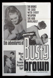 The Adventures of Busty Brown one sheet 1964