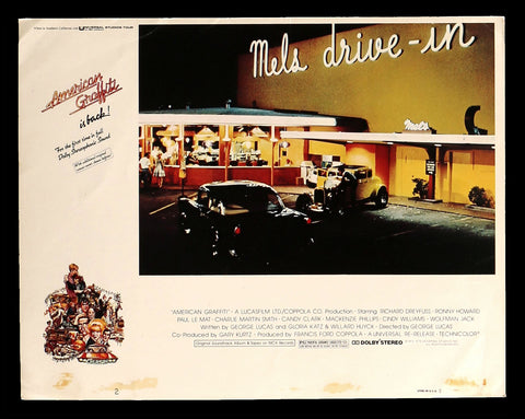 American Graffiti lobby card Mels Drive In