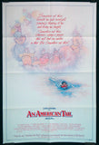 An American Tail one sheet 1986 animation