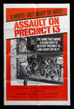 Assault On Precinct 13 one sheet 1976 John Carpenter