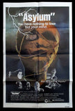 Asylum one sheet 1972 horror
