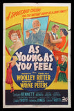 As Young As You Feel one sheet Marilyn Monroe