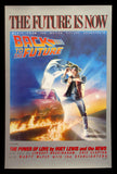 Back to the Future soundtrack poster