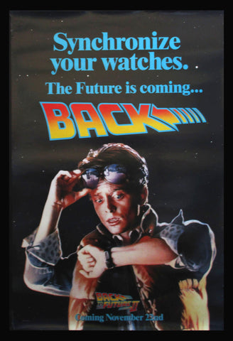 Back To The Future II advance one sheet