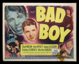 Bad Boy title lobby card Audie Murphy 1949