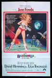 Barbarella one sheet 1968 Jane Fonda sci fi