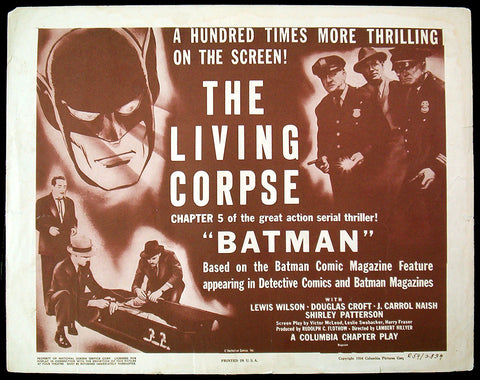 Batman title card 1954 re-release Chapter 5