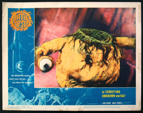 Battle Beyond The Sun lobby card #2 sci-fi 1962