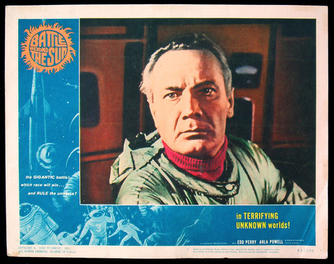 Battle Beyond The Sun lobby card #3 sci-fi 1962
