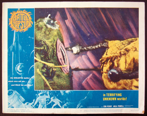 Battle Beyond The Sun lobby card #6 sci-fi 1962