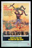 Battle for the Planet of the Apes one sheet 1973
