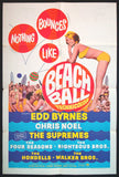 Beach Ball one sheet 1965 The Supremes The Four Seasons The Righteous Brothers