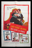 Bell, Book and Candle one sheet Kim Novak James Stewart 1958