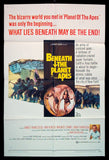 Beneath The Planet of the Apes one sheet 1970