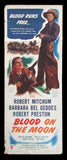 Blood On The Moon insert movie poster Robert Mitchum