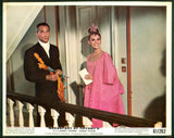 Breakfast At Tiffany's 1961 color 8x10 still mini lobby card Audrey Hepburn