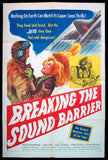 Breaking the Sound Barrier one sheet 1952 David Lean