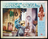 Brides of Dracula lobby card 1960 Hammer horror