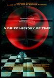 A Brief History of Time 1992 US one sheet Stephen Hawking
