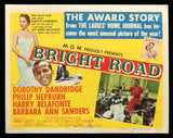 Bright Road lobby card 3 1953 Dorothy Dandridge