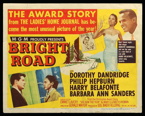 Bright Road lobby card 5 1953 Dorothy Dandridge