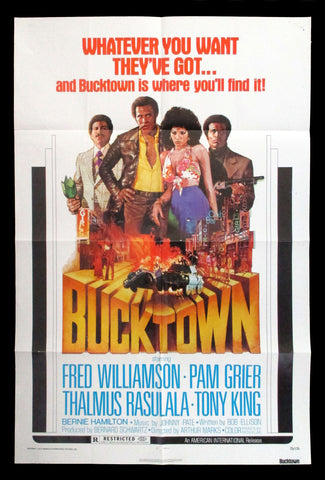 Bucktown one sheet Pam Grier