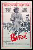 Burn one sheet 1970 Marlon Brando