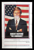The Candidate 1972 US one sheet Robert Redford