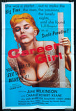 Career Girl one sheet June Wilkinson 1960