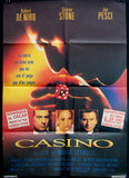 Casino 1995 Spanish movie poster Martin Scorsese