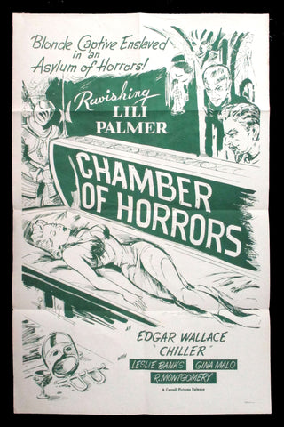 Chamber of Horrors one sheet
