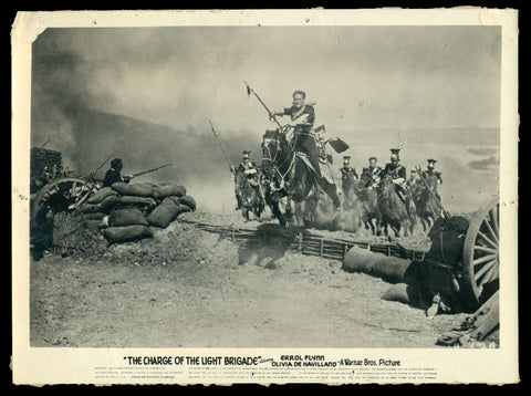 The Charge of the Light Brigade still #1 1936 Errol Flynn