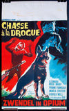 Chasse a la drogue Belgian movie poster