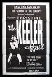 The Christine Keeler Affair one sheet 1963