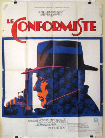 The Conformist French movie poster