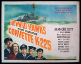 Corvette K-225 title card 1943 WWII