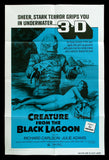 The Creature From The Black Lagoon one sheet Universal horror