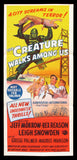 The Creature Walks Among Us Australian daybill Universal 1956