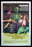 The Creeping Flesh one sheet 1972 Peter Cushing Christopher Lee horror