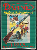 Darne hunting shotguns French poster