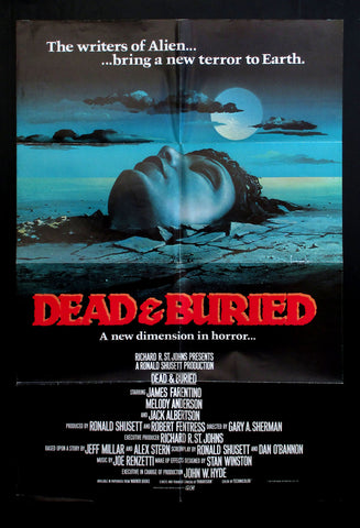 Dead and Buried one sheet 1981 horror