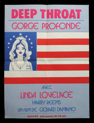 Deep Throat French movie poster