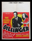 Dillinger movie poster 1940s Lawrence Tierney
