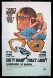 Dirty Mary Crazy Larry one sheet 1974