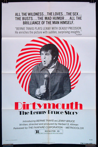 Dirtymouth: The Lenny Bruce Story one sheet