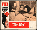Dr. No lobby card #1 1970 James Bond 007