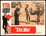 Dr. No lobby card #3 1970 James Bond 007