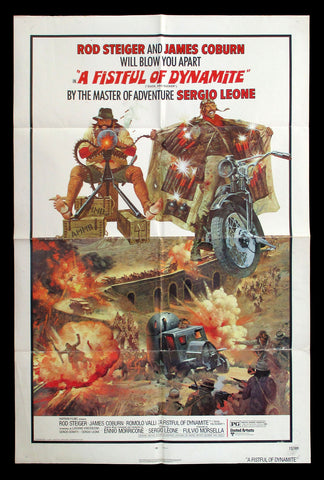 A Fistful of Dynamite Duck You Sucker one-sheet Leone