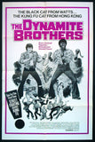 The Dynamite Brothers one sheet 1973 kung fu blaxploitation
