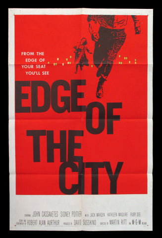 Edge of the City one-sheet Saul Bass